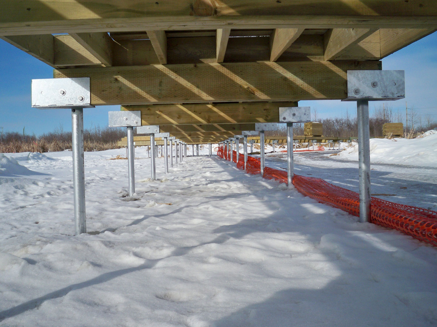 Premier Fencing | Helical Piles ∙ Helical Pier Installation