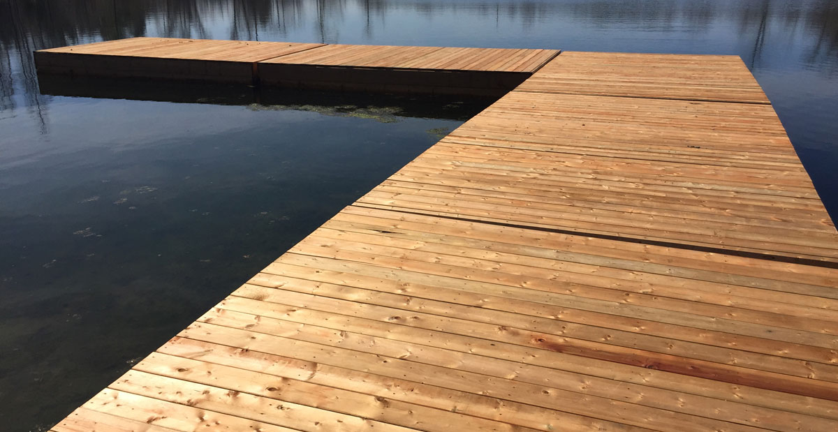 Nice Wood Deck